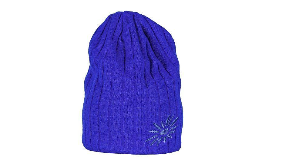 Zimní pletená čepice Original - blue