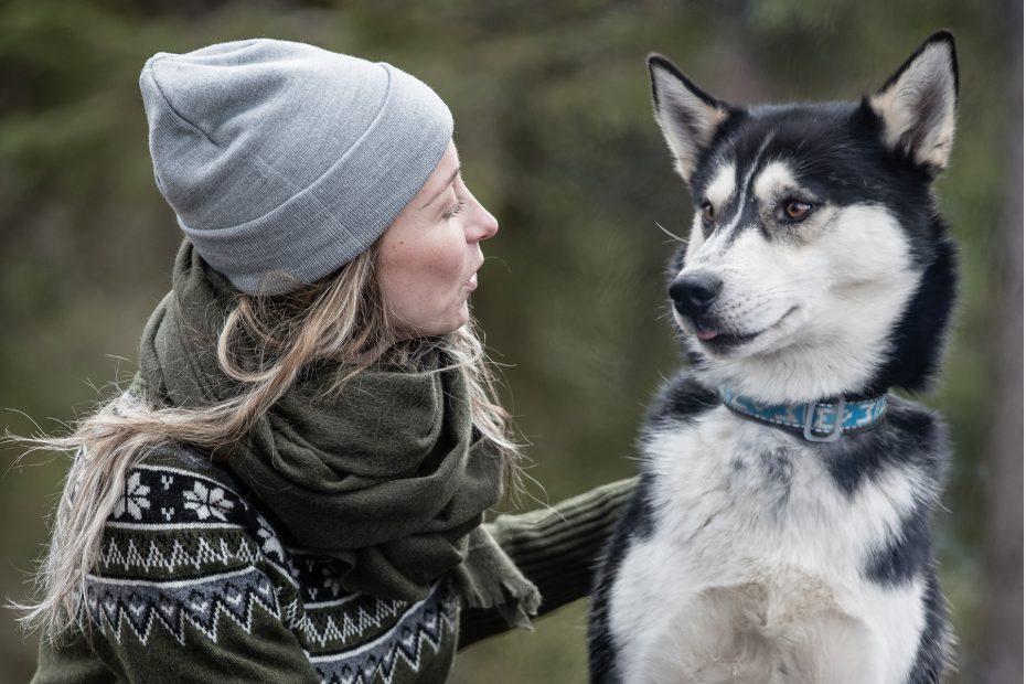 Zimní pletená čepice Agda - grey