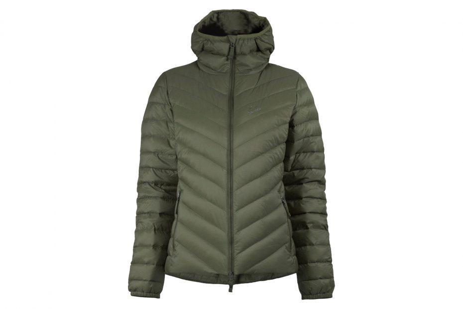 Zimní přéřová bunda Down Hood - olive