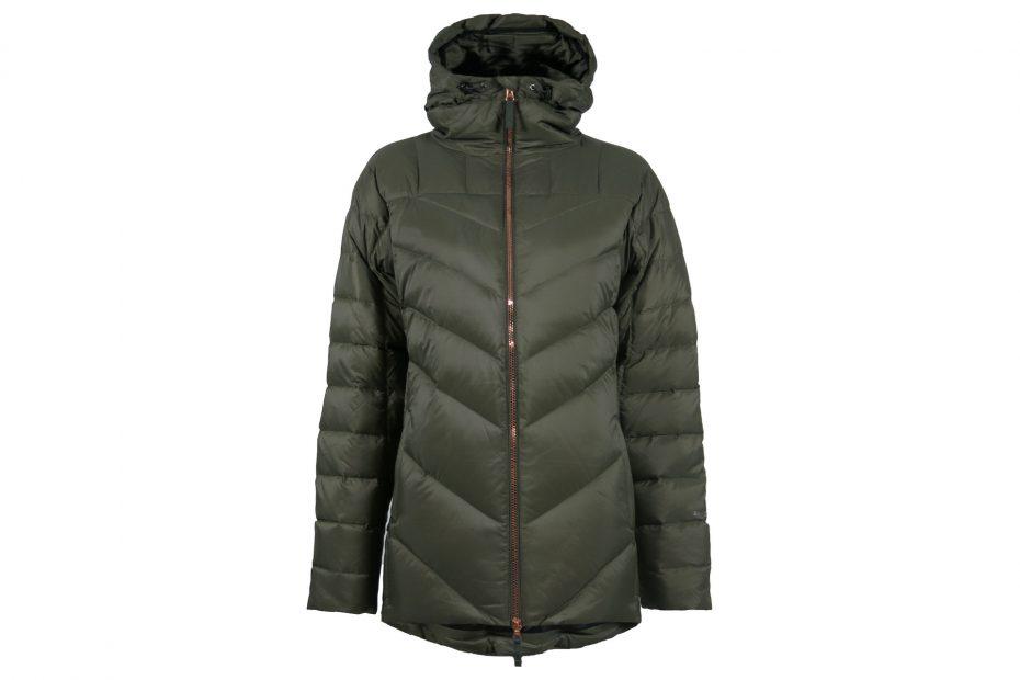 Zimní péřová bunda Nuuk - olive