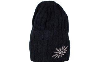 Zimní pletená čepice Original - black