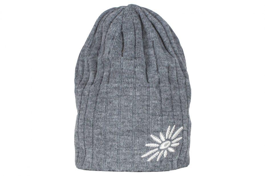 Zimní pletená čepice Original - grey