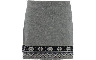 Pletená sukně Scandinavian - greymelange