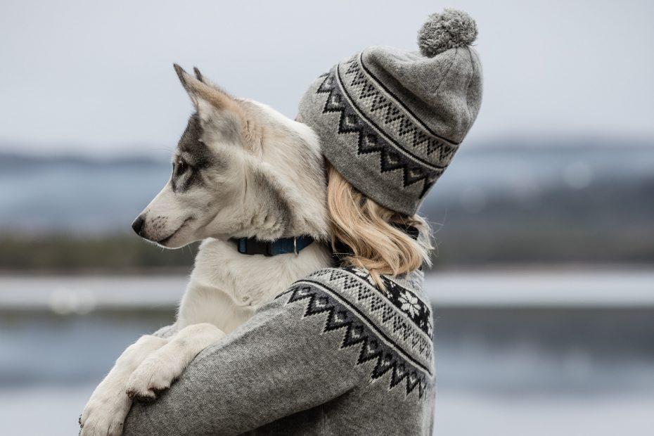 Vlněná čepice Scandinavian - grey