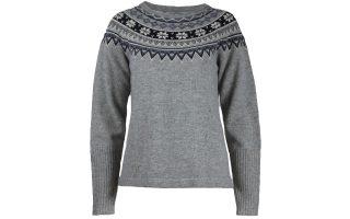 Vlněný svetr Scandinavia - greymelange