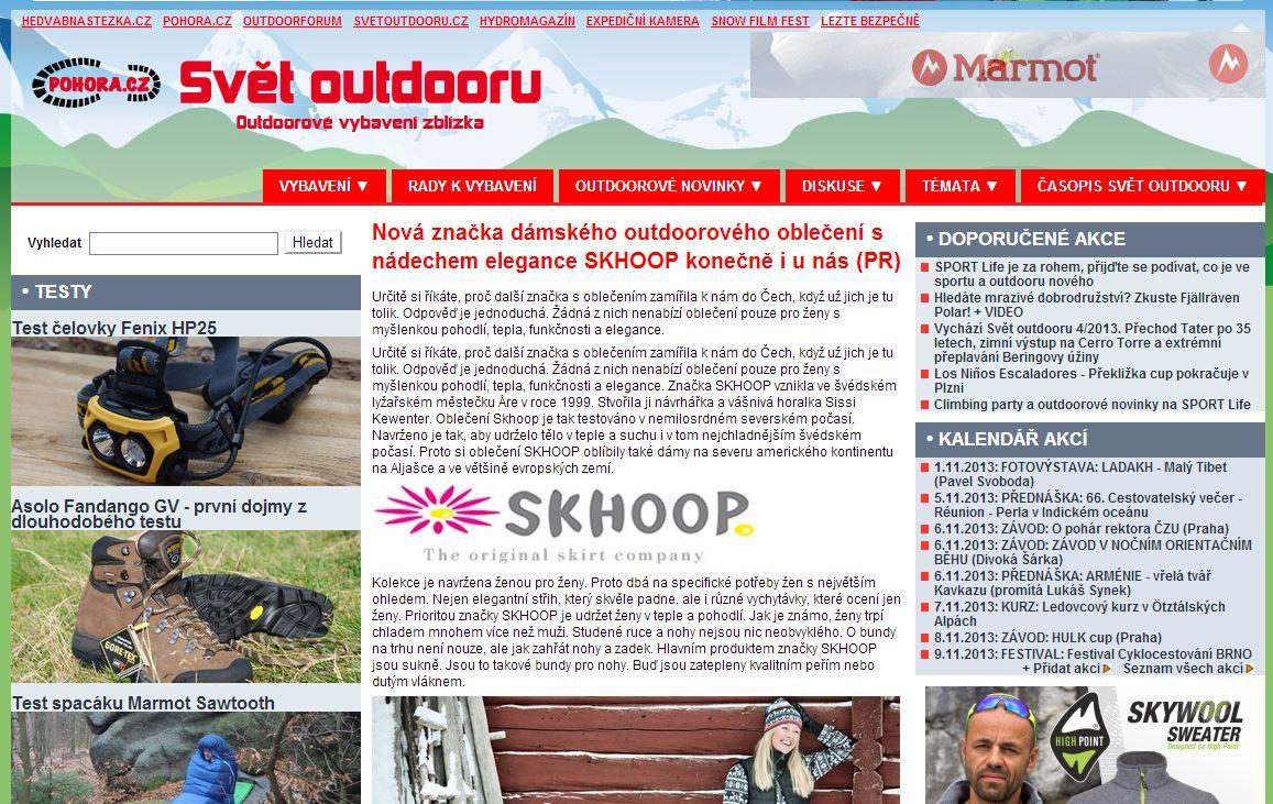 Napsali o nás - SKHOOP – nevšední oblečení ze Švédska! 97d46973d7