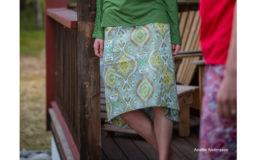 Letní sukně Lisa SKHOOP zelená