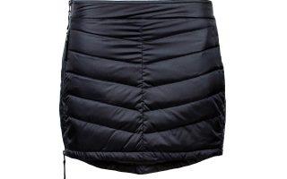 Zimní péřová sukně Mini Down - black