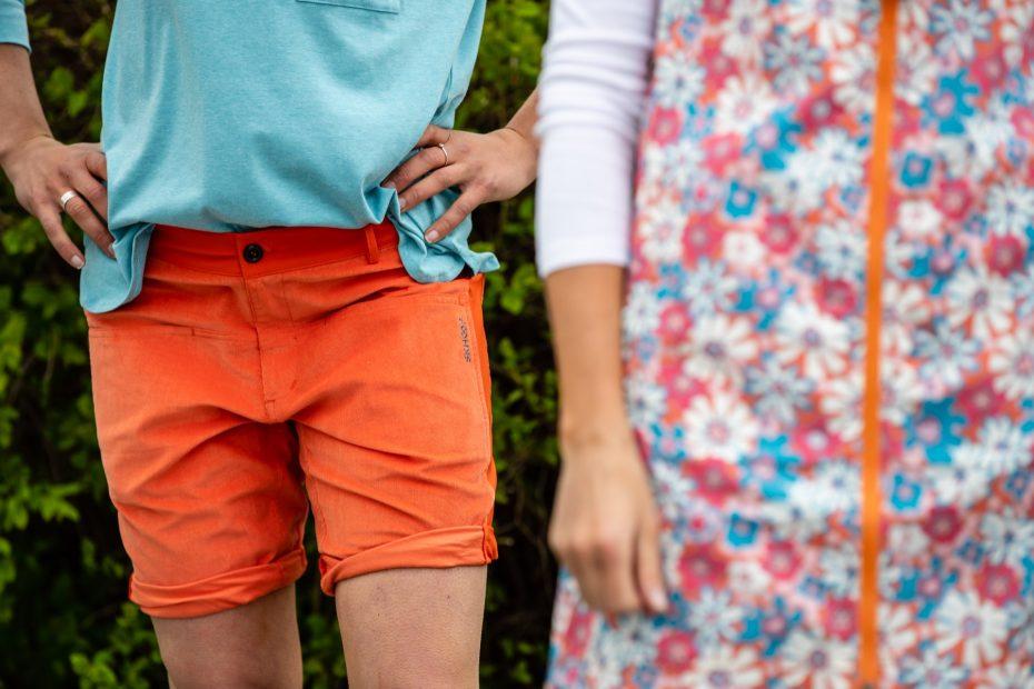 Funkční šortky Åre SKHOOP - orange