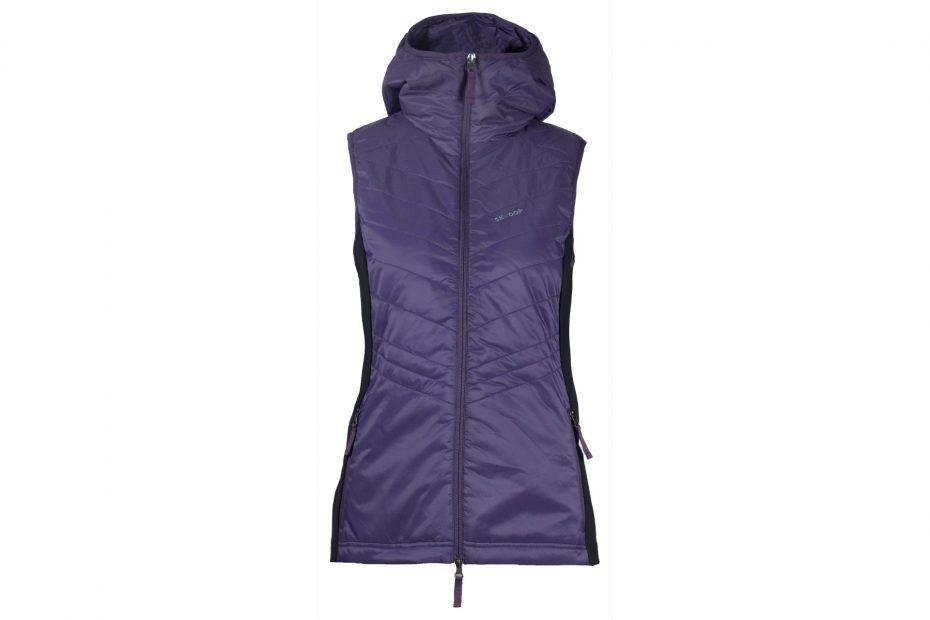 Zimní vesta Mona - blueberry