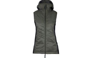 Zimní vesta Mona - olive
