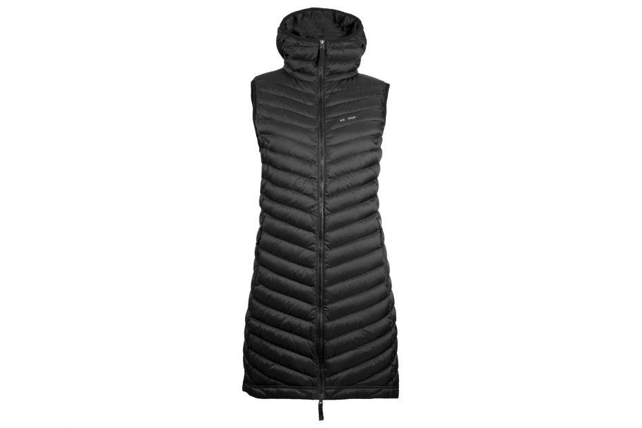 Zimní péřová vesta The Osa - black