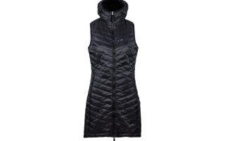 Zimní šatová vesta The Debbie - black