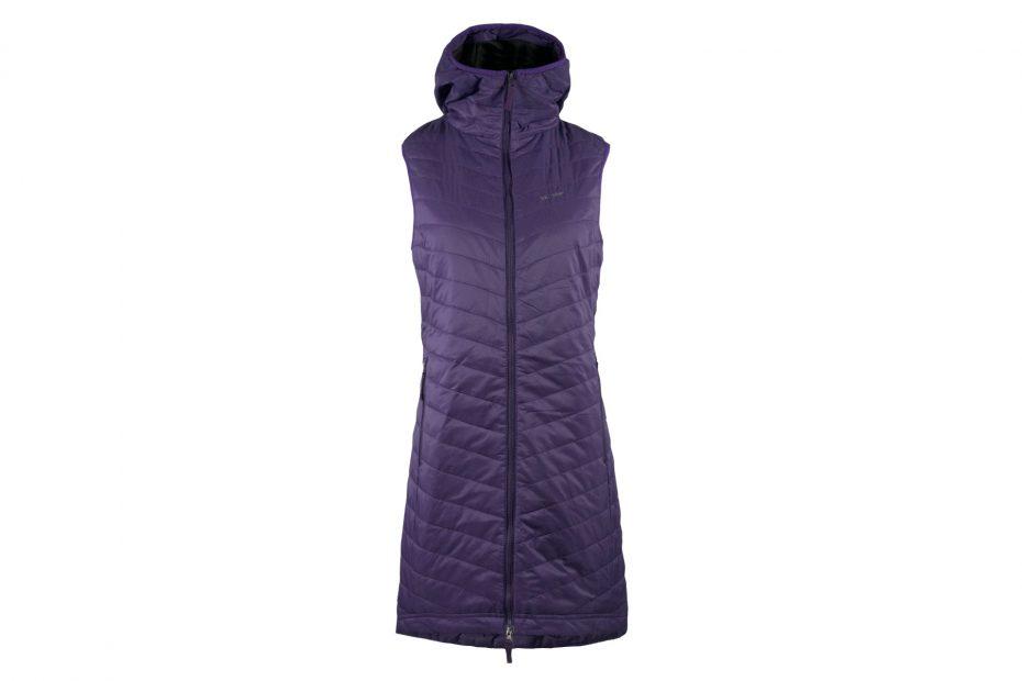 Zimní šatová vesta The Debbie - blueberry