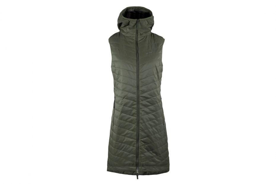 Zimní šatová vesta The Debbie - olive